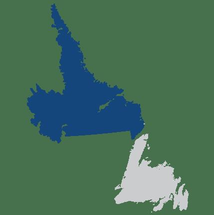 Top Destinations Newfoundland And Labrador Canada - Newfoundland and labrador map