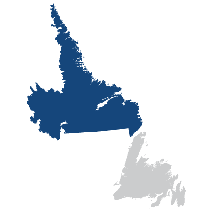 Labrador Region Map