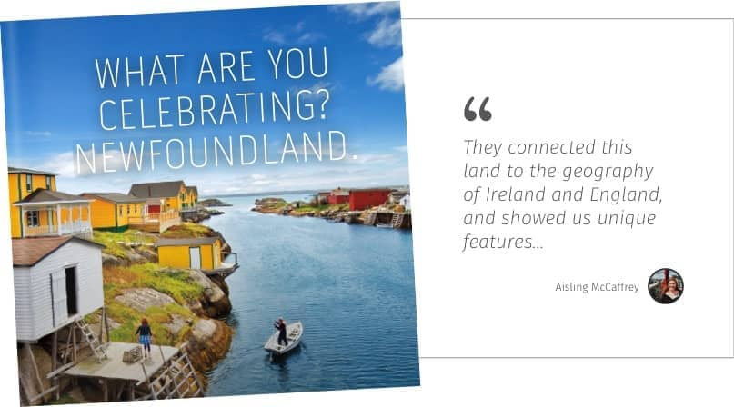 What are you celebrating? Newfoundland