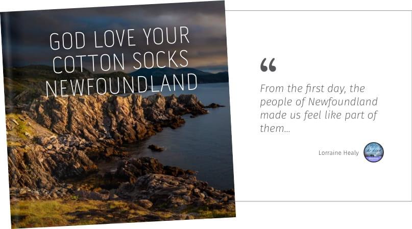 God love your cotton socks newfoundland