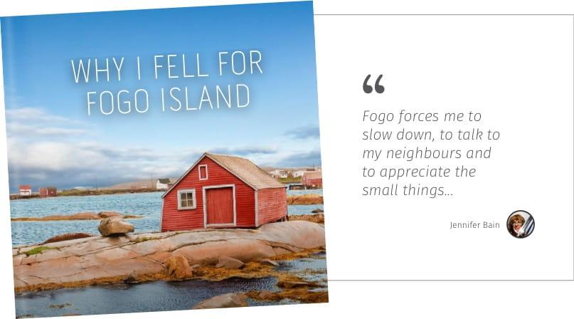 Why I feel for fogo island