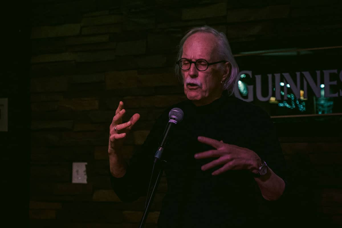 Man telling story