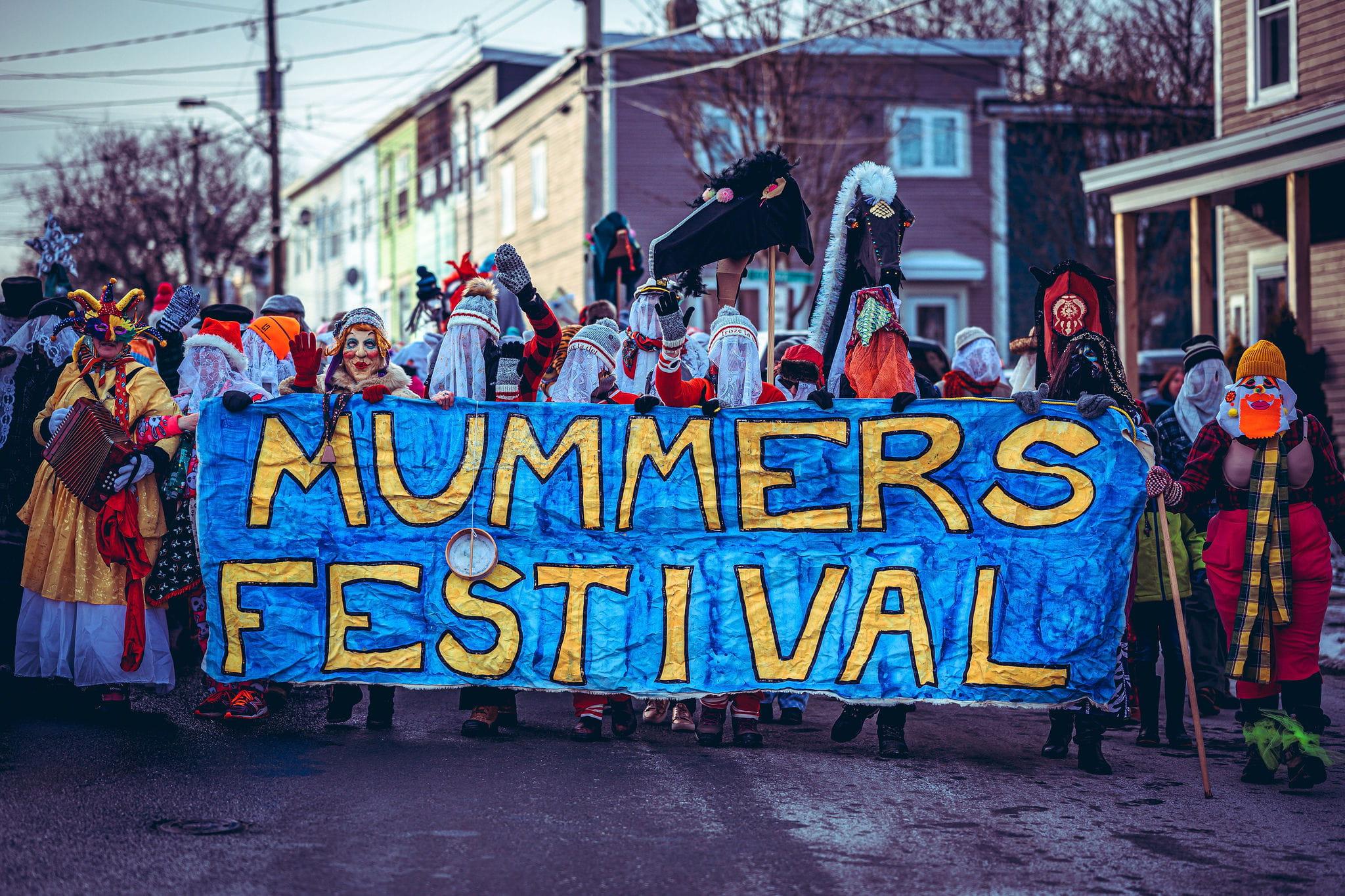 Mummer's Parade Sign