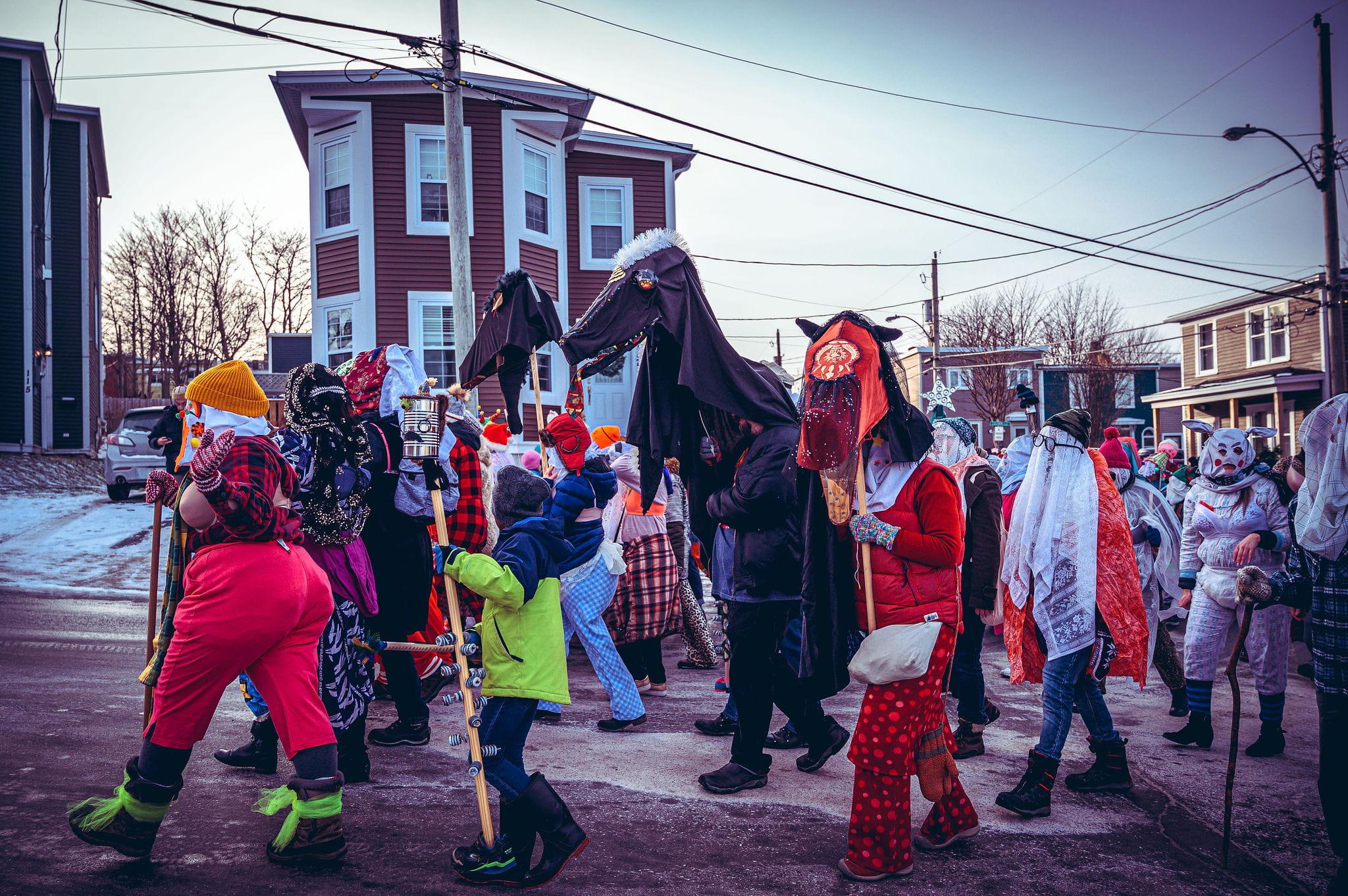 Mummer's Parade in St. John's