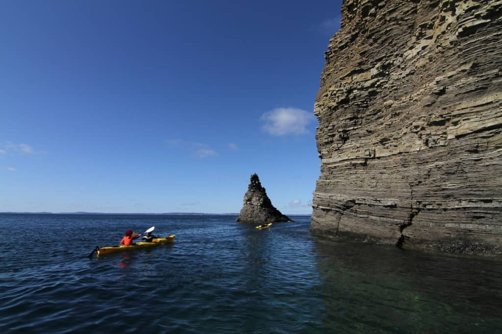 Paddling Sea Stacks