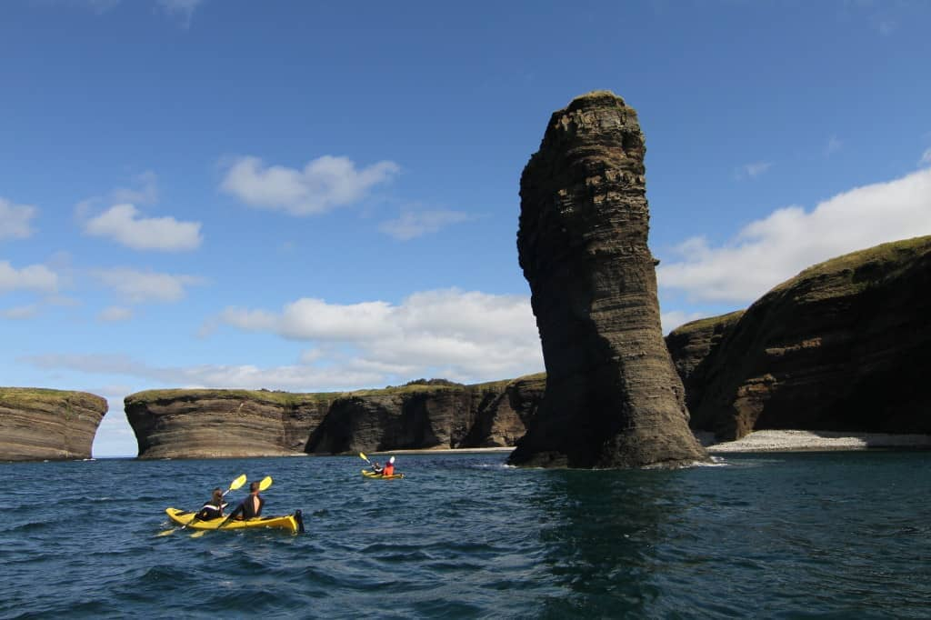 Seakayaking Sea Stacks