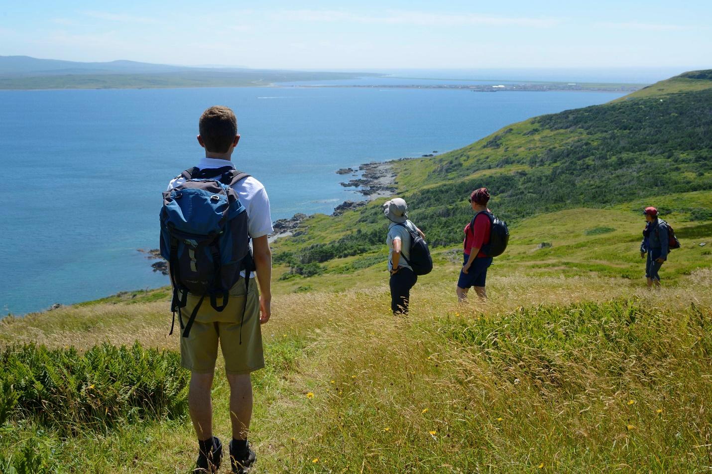 Hill walking in Miquelon