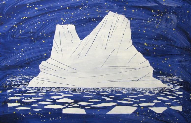 iceberg inspired art