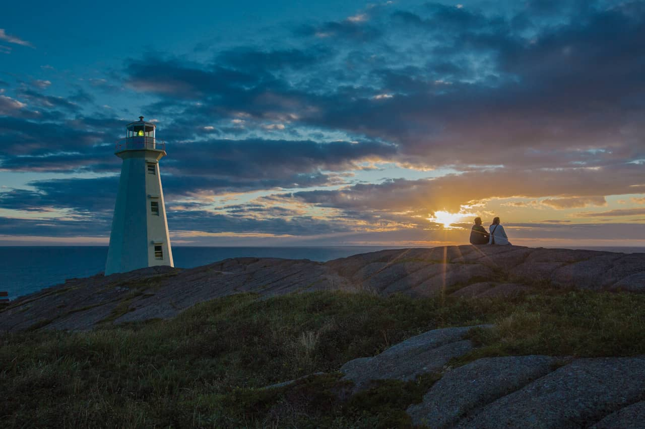 Cape Spear National Historic Site, sunrise