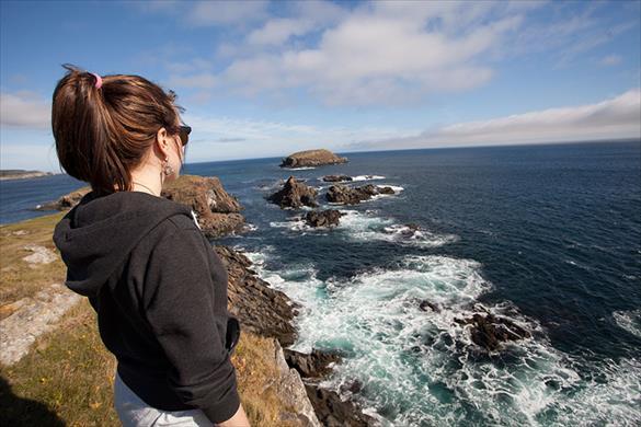 Coastline in Elliston, Newfoundland and Labrador