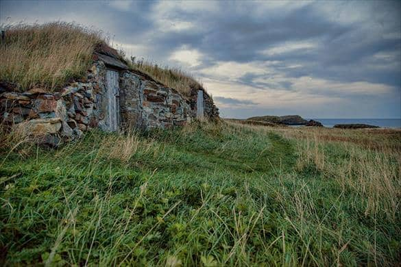 Root Cellar in Elliston, Newfoundland and Labrador