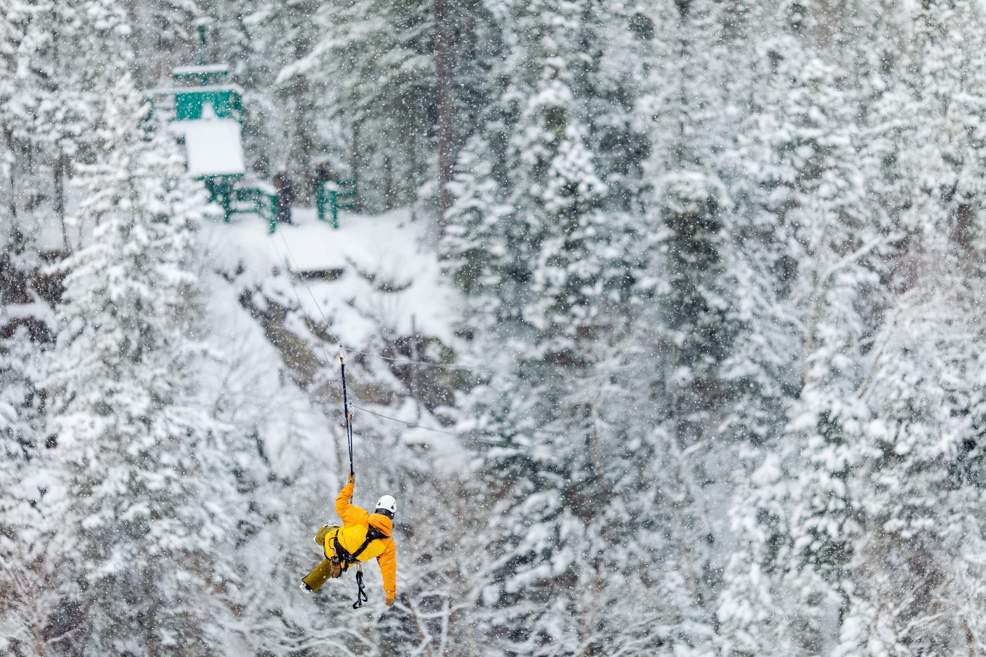 Marble Mountain Resort Ziplining