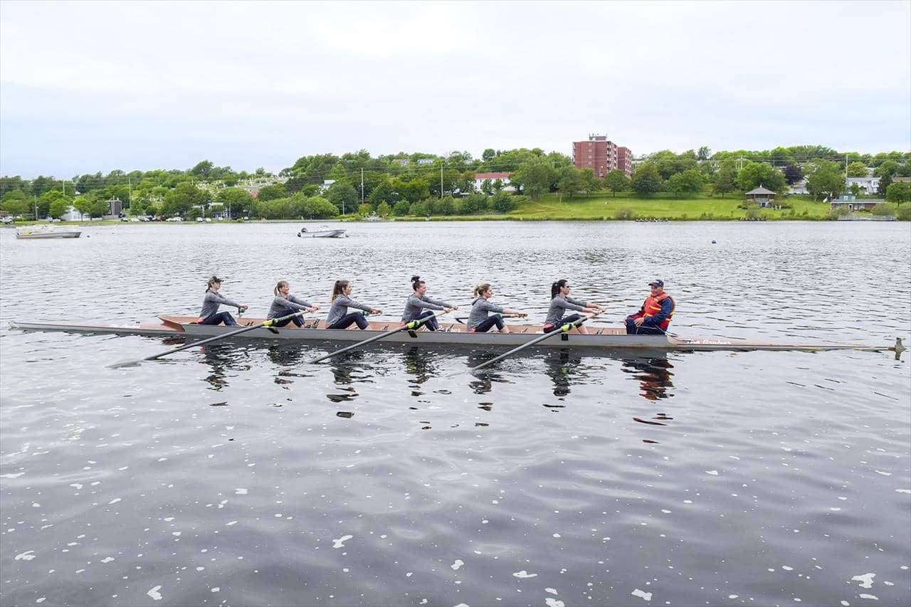 Rowers at the Royal Regatta