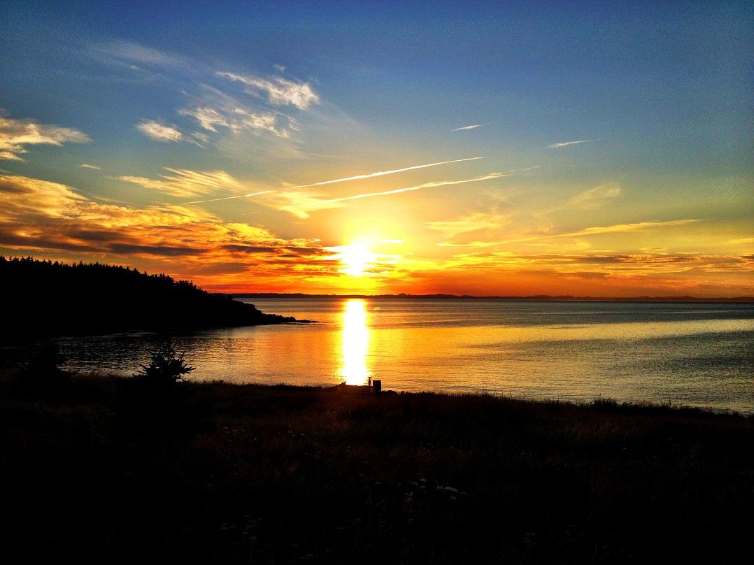 Sunset Trinity Bay
