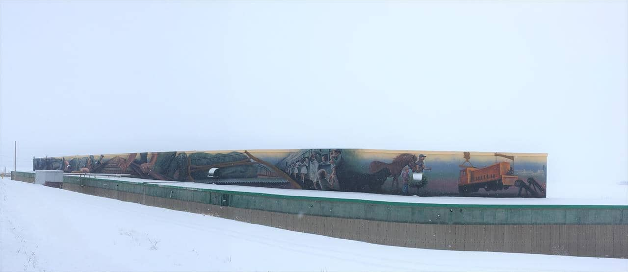 Come Home mural, Botwood