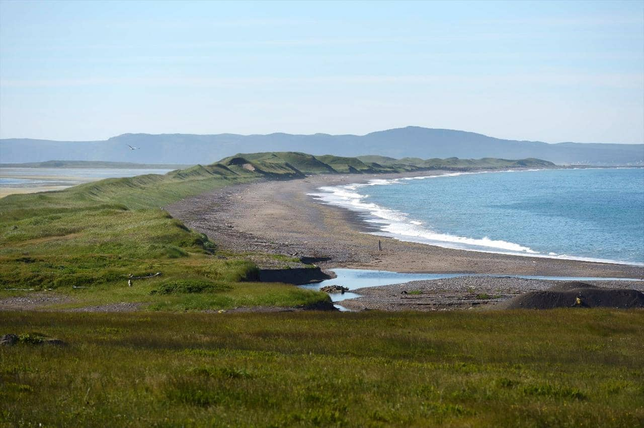 Beach and shoreline in Saint Pierre and Miquelon