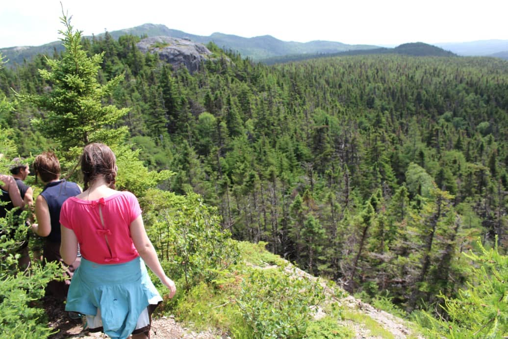 George Cove Mountain Hiking, Newfoundland and Labrador
