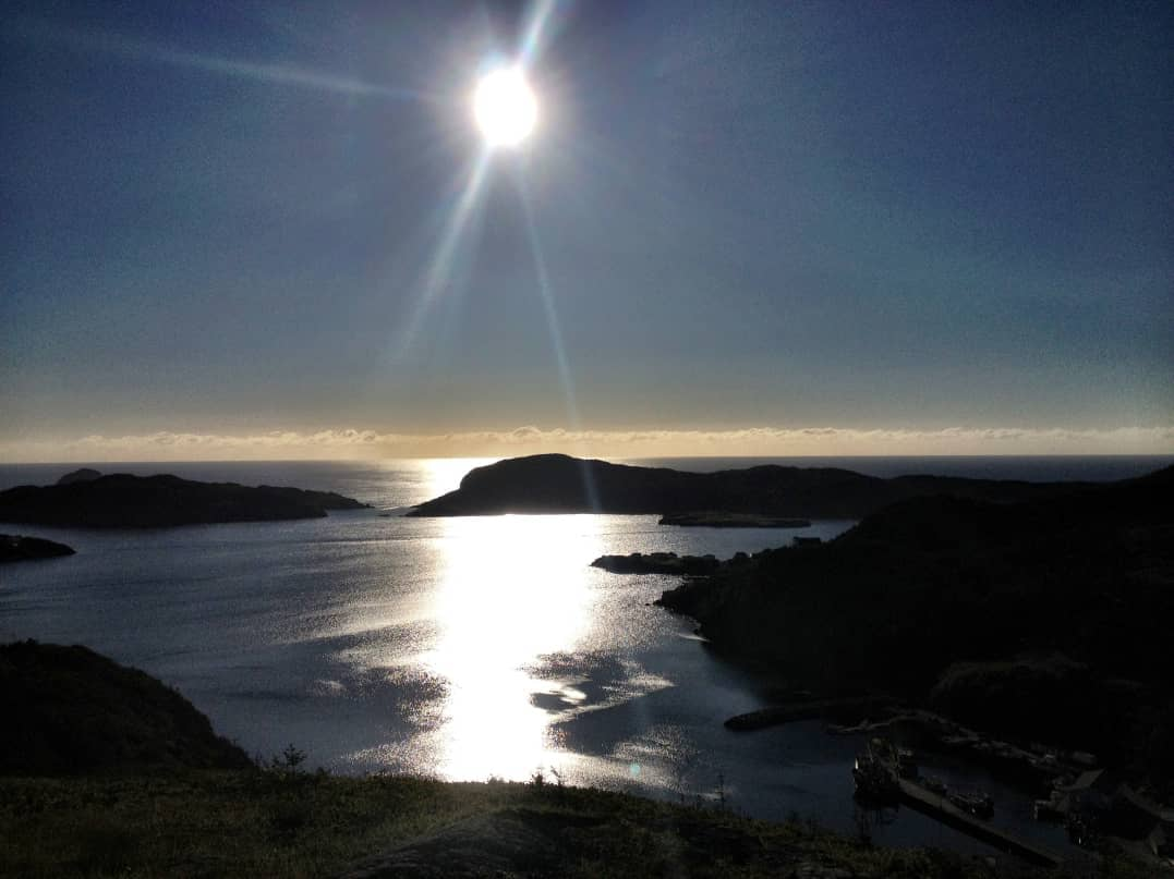Sunrise over Placentia Bay