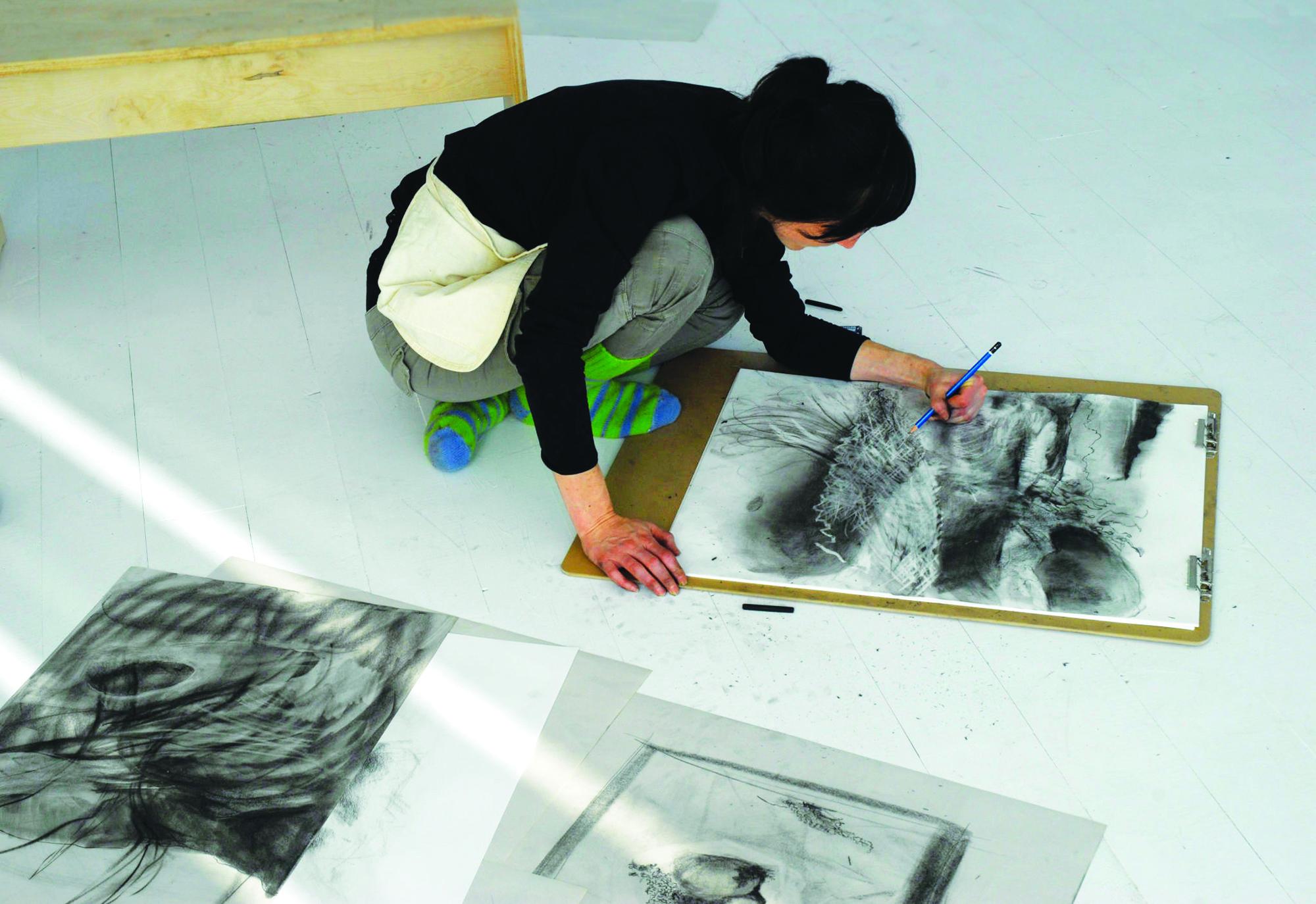 Artist at Work, Fogo Island