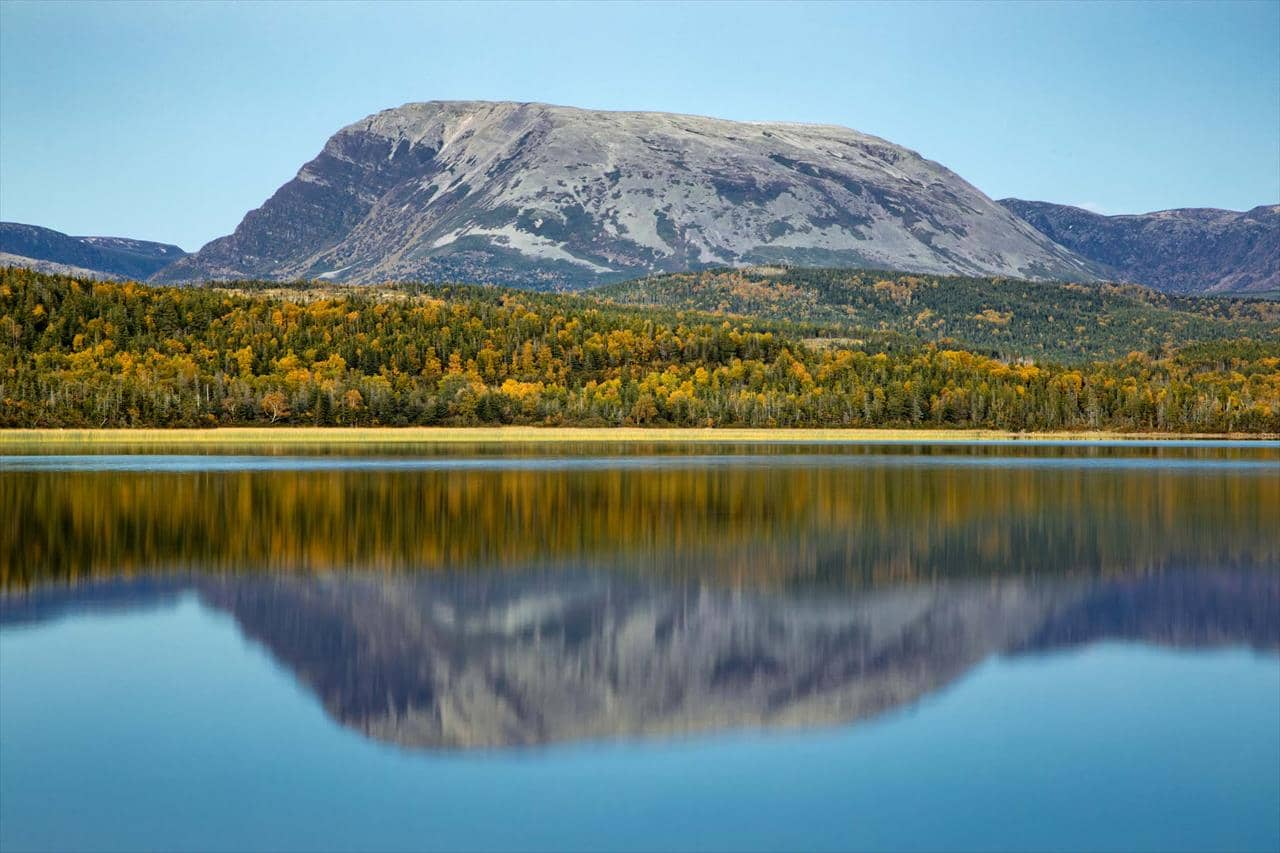 Gros Morne in the fall. Photo by Michael Winsor
