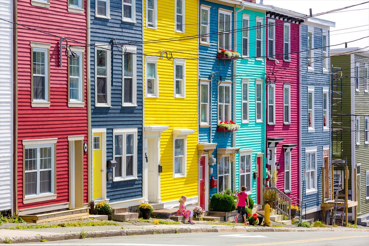 Jelly Bean Row >> The Jelly Bean Palette Newfoundland And Labrador Canada