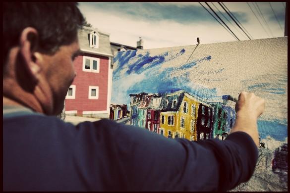 Painting St. John's