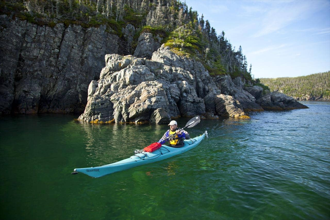 Kayaking  Terra Nova National Park