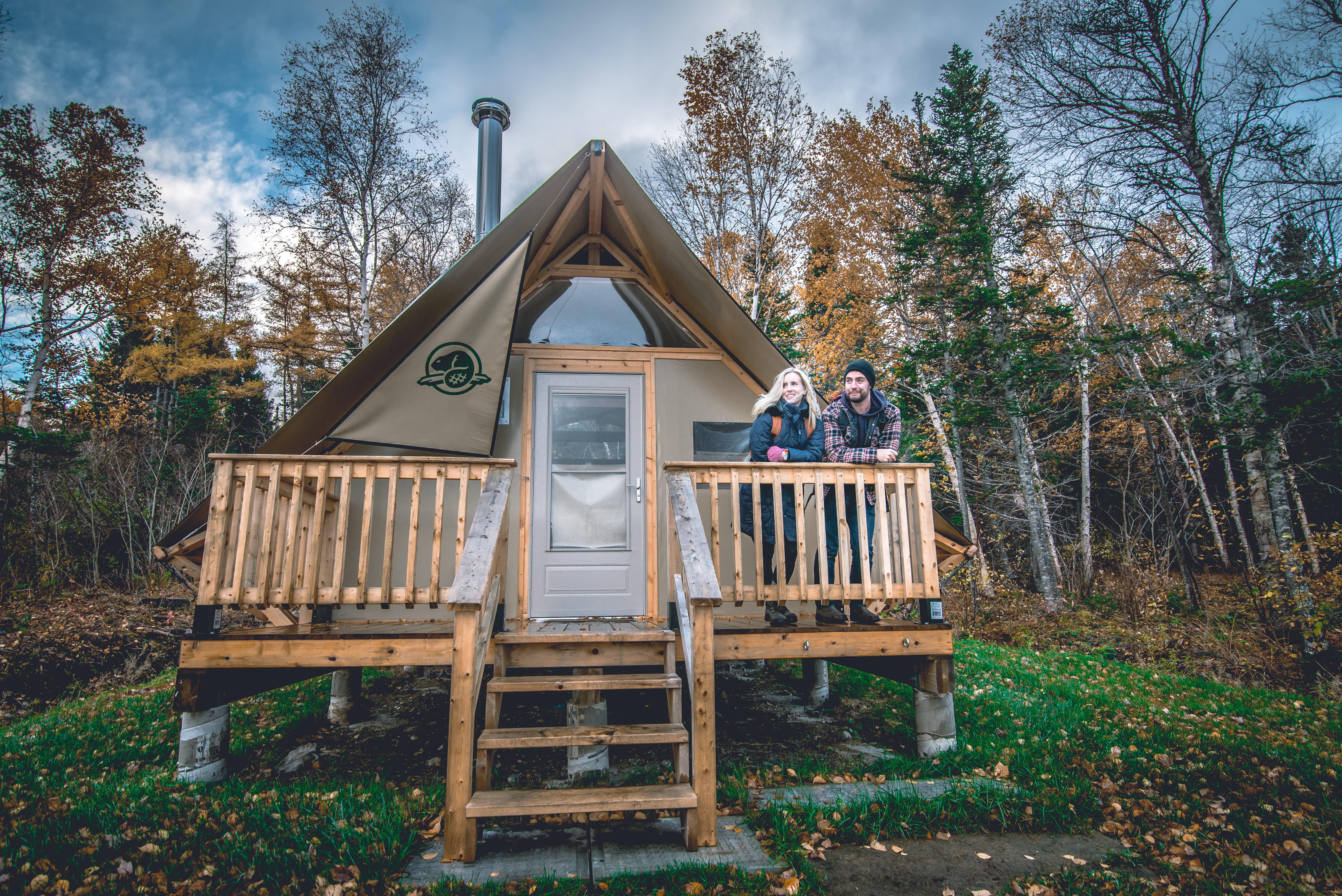 oTENTik Site at Terra Nova National Park