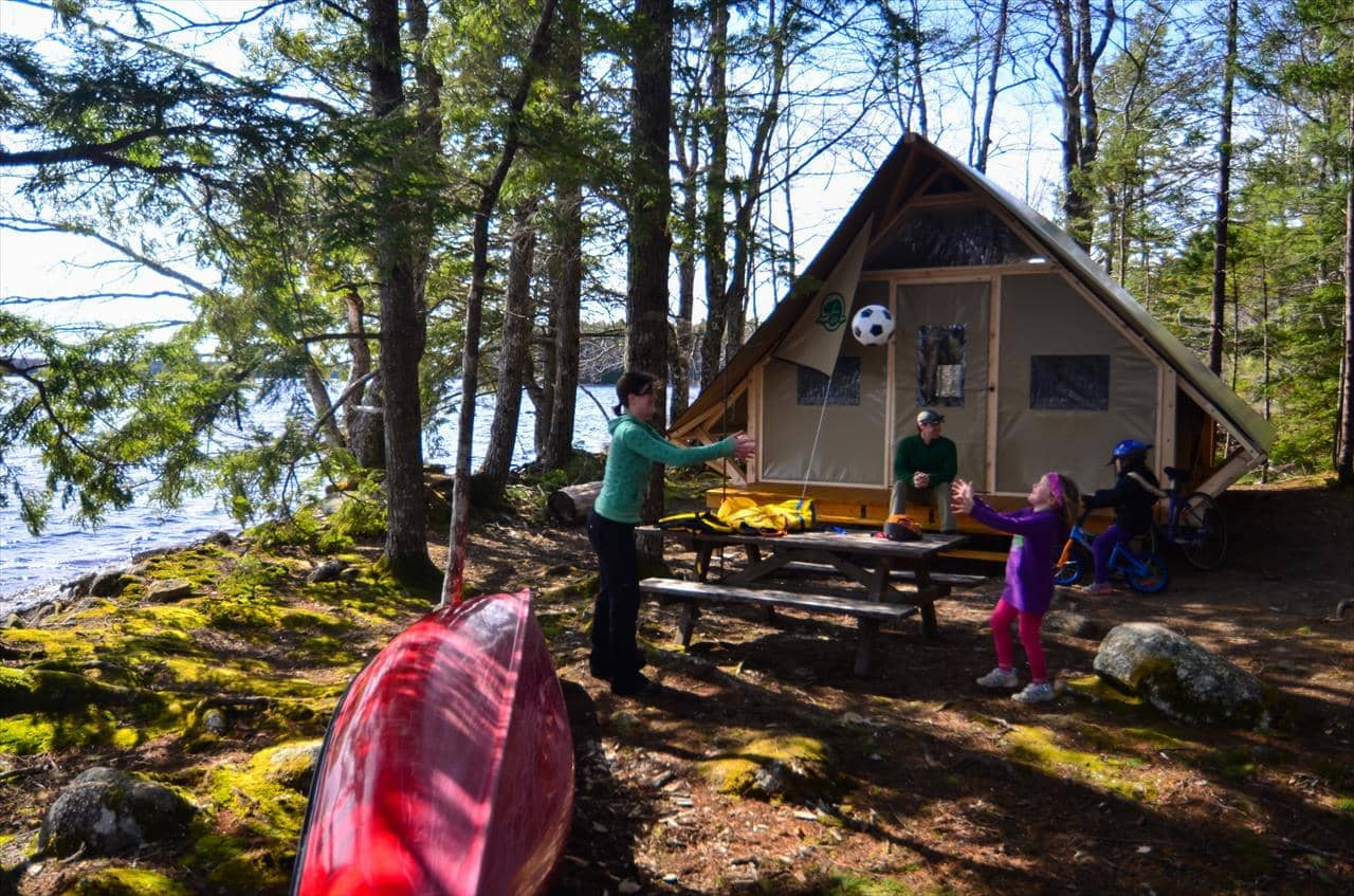 Terra Nova National Park Glamping Site