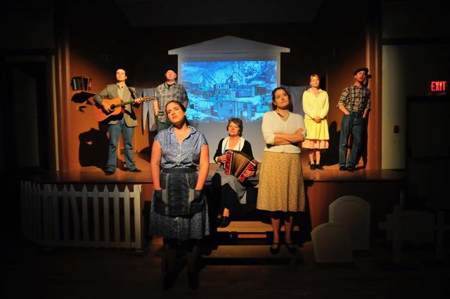Rising Tide Theatre actors