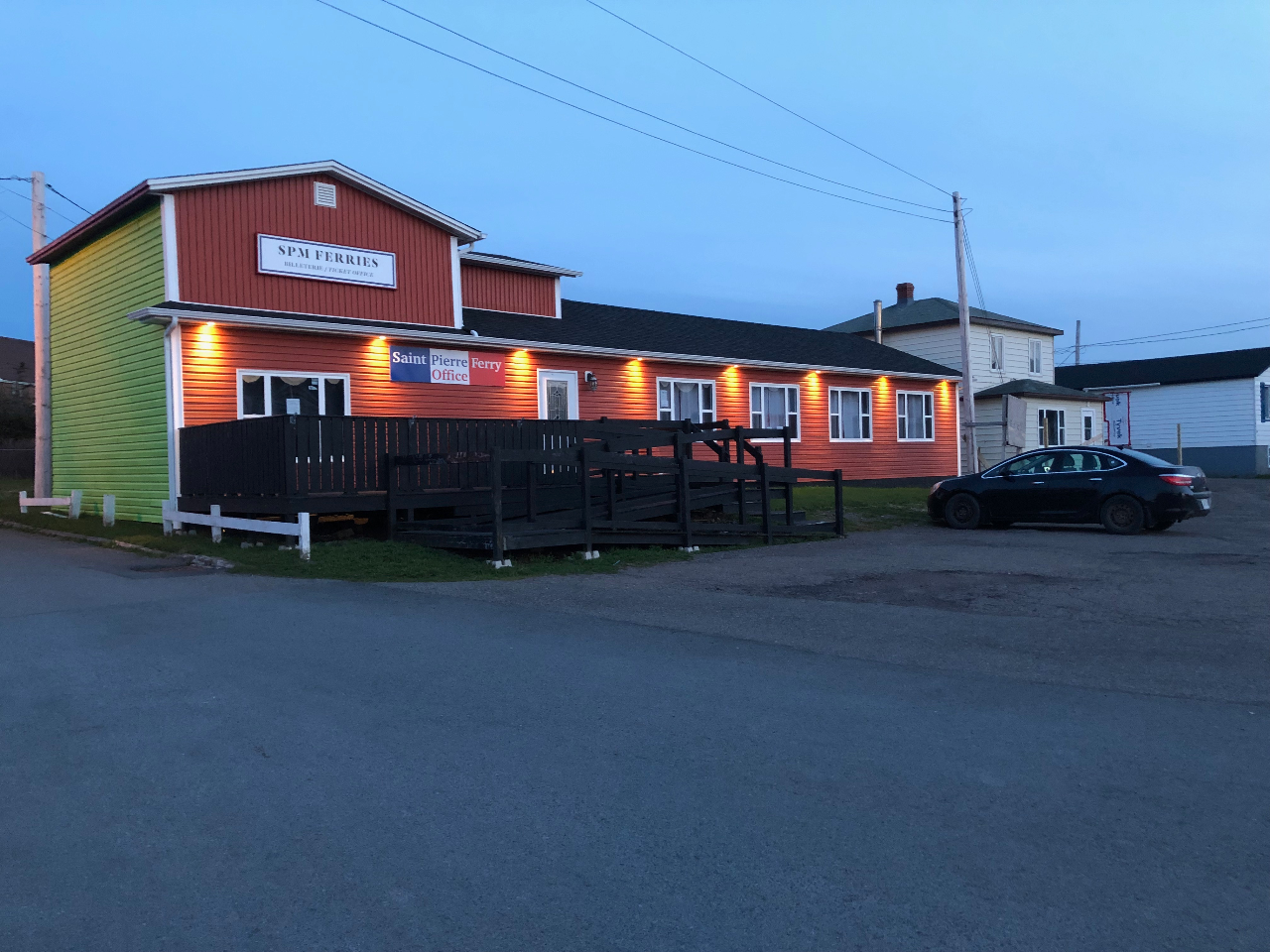 Saint Pierre Ferry Office - Fortune - Newfoundland and Labrador, Canada