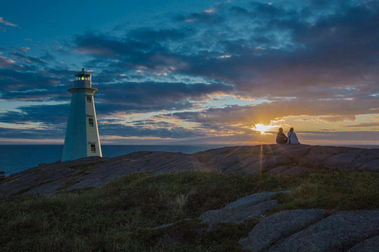 Cape Spear National Historic Site, sunrise
