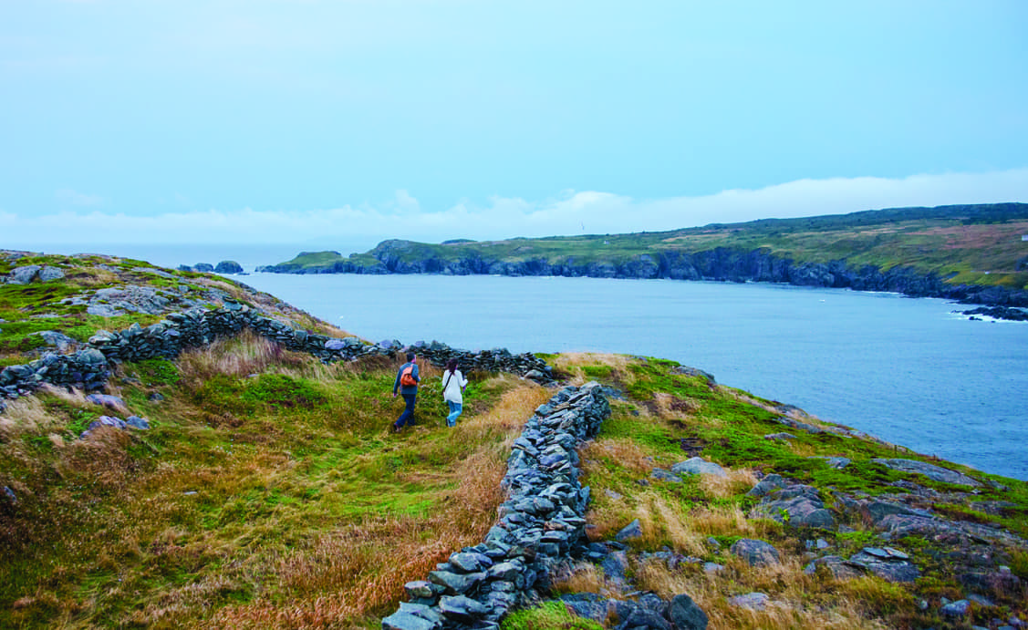Hiking in Grates Cove