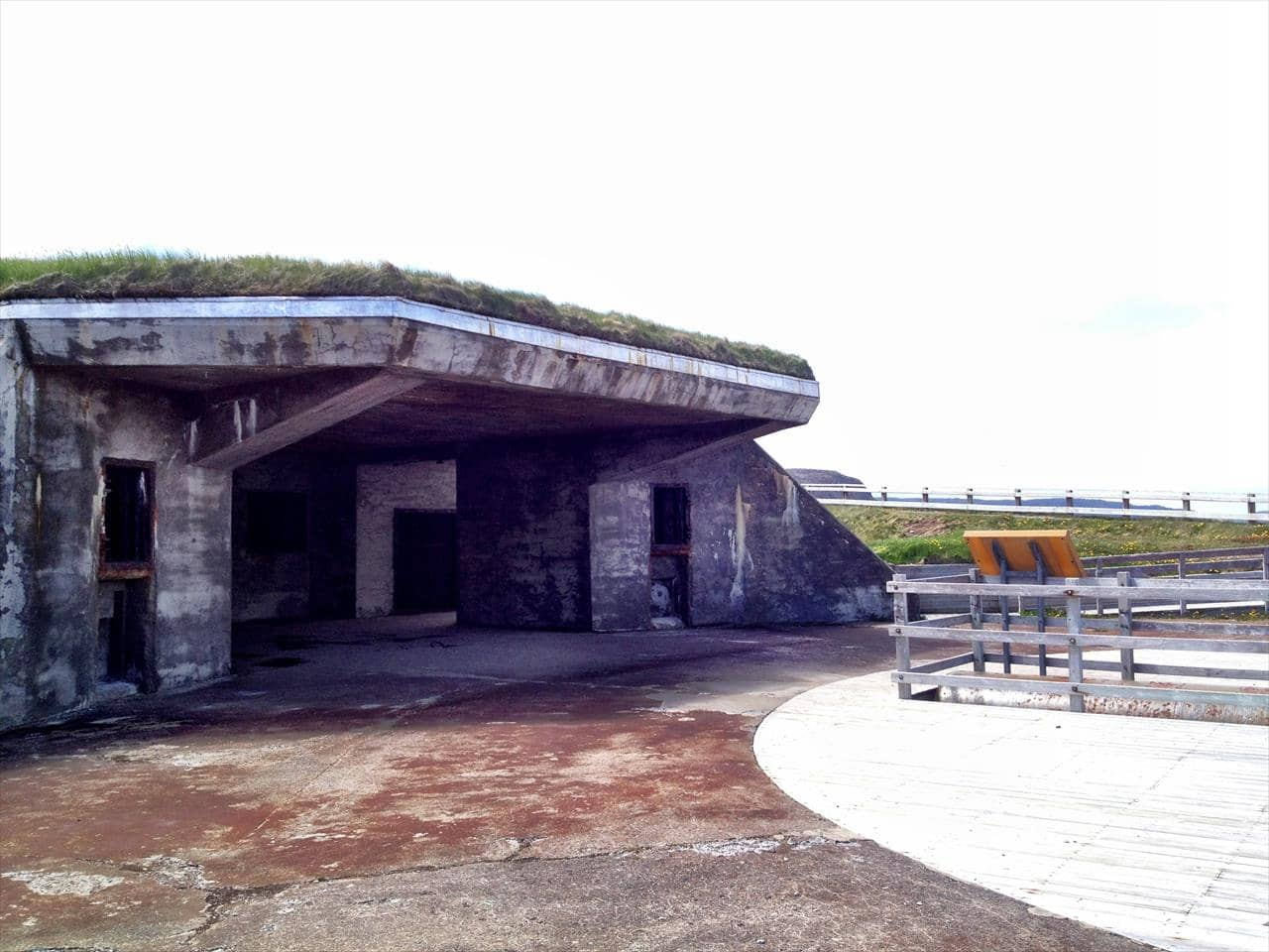 World War 2 Fortifications at Cape Spear