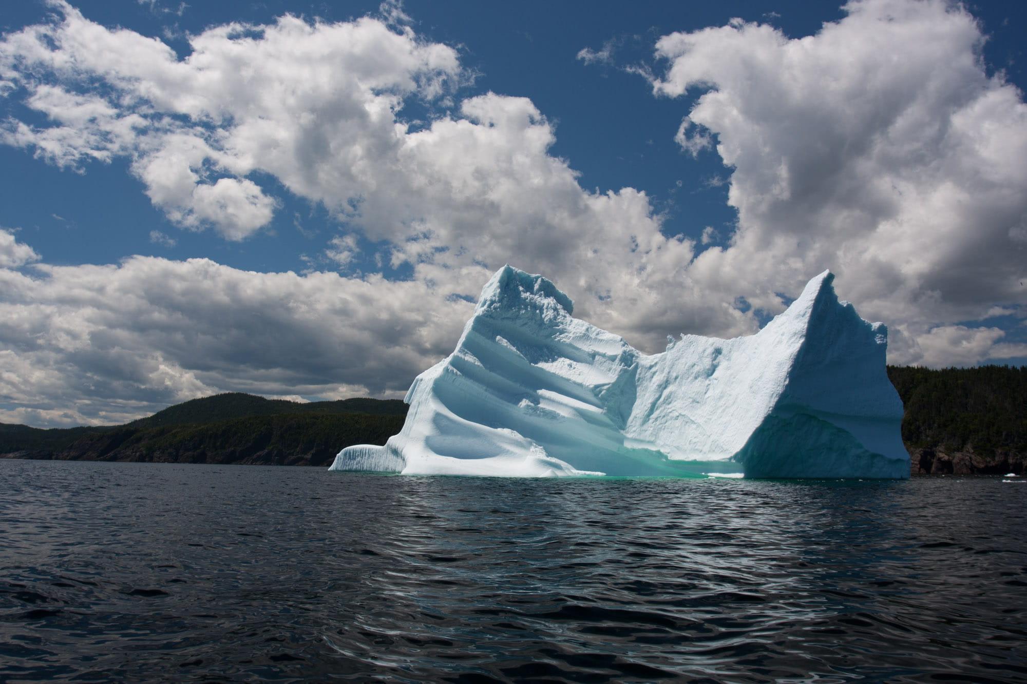 Iceberg in Central Newfoundland