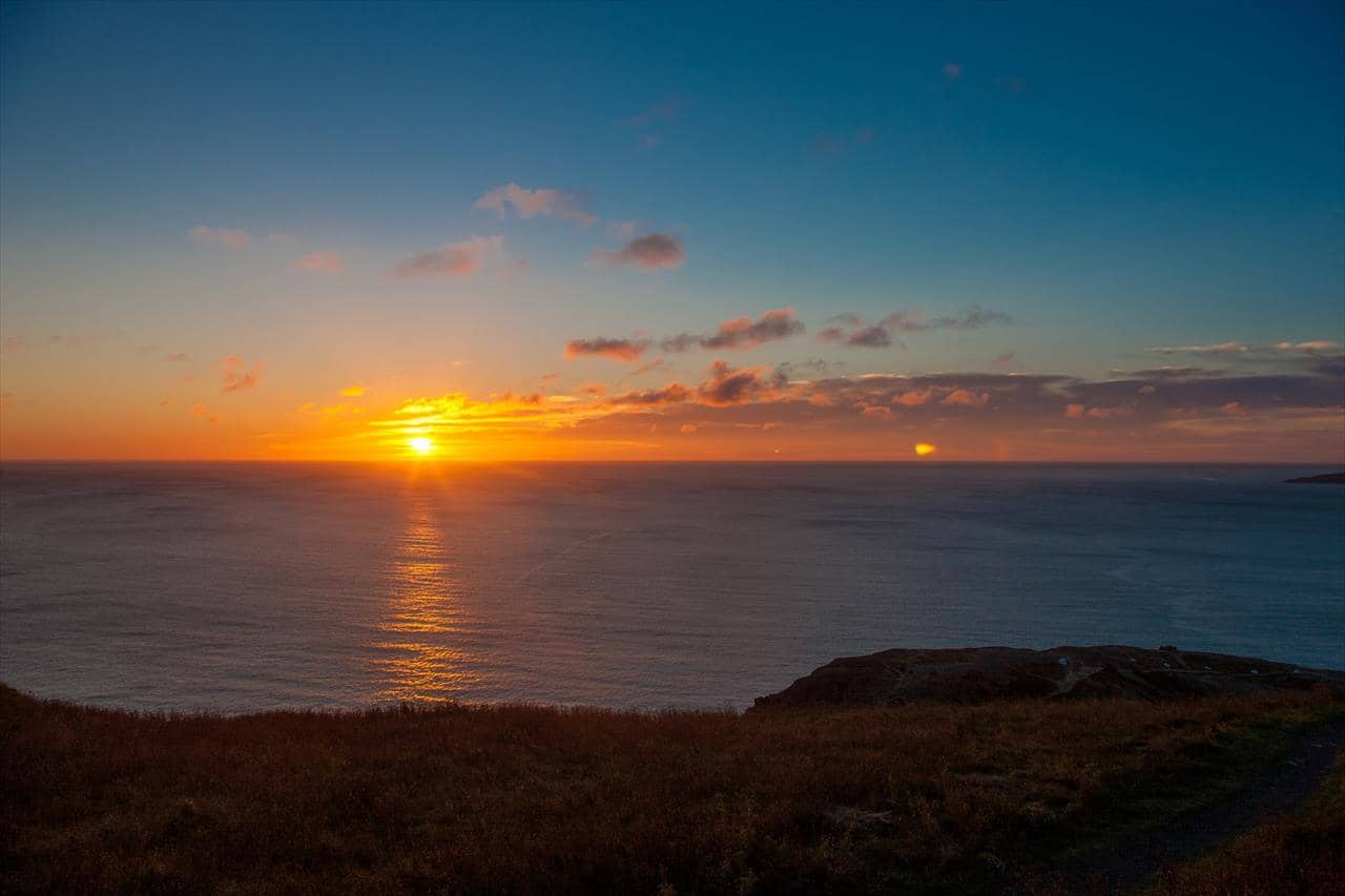 Sunrise at Brimstone Head